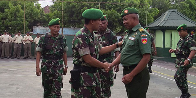 Korps Raport Purna Tugas Anggota Kodim 0706/Temanggung