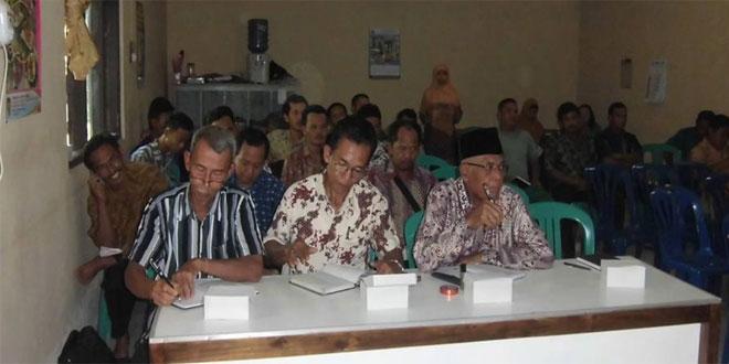 Koramil 08/Kemiri Laksanakan Komsos dengan Gapoktan di Desa Kemiri Lor
