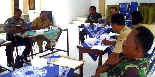 Danramil 04/Banyuurip Rapat Koordinasi HUT Korpri Ke 44 Tahun 2015