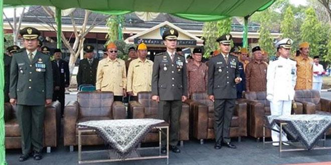 Upacara Hari Pahlawan Kabupaten Tegal