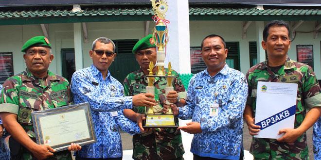 Kodim 0709/Kebumen Raih Juara I Tingkat Provinsi Jateng