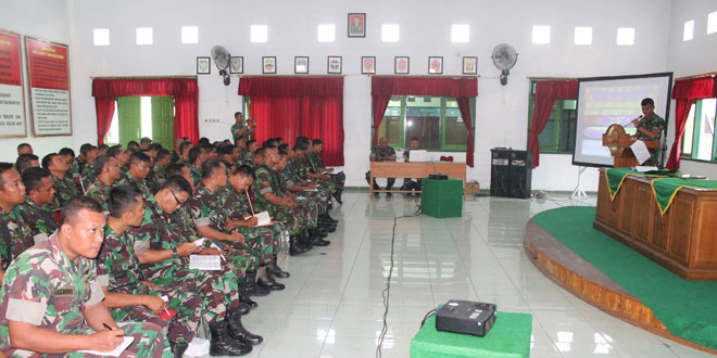 Kodim 0713/Brebes Laksanakan Pembinaan Kesiapan Aparat Wilayah dan Kemampuan Teritorial