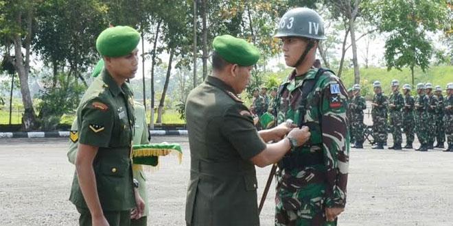 Danrindam IV/Diponegoro Membuka Pendidikan Pertama Tamtama TNI AD