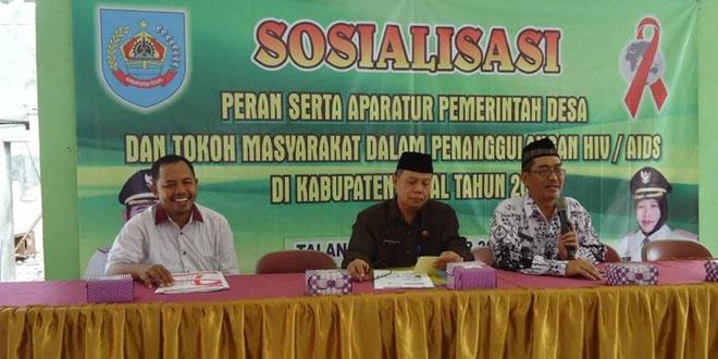 Sosialisasi Penanggulangan HIV/AIDS di Wilayah Koramil 08/Talang
