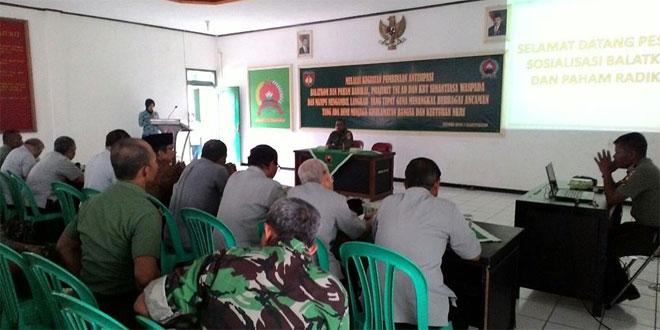 Kodim 0701/Bms Laksanakan Sosialisasi Balatkom