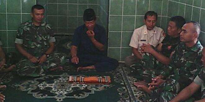Peresmian Mushola Koramil 16/Rawalo
