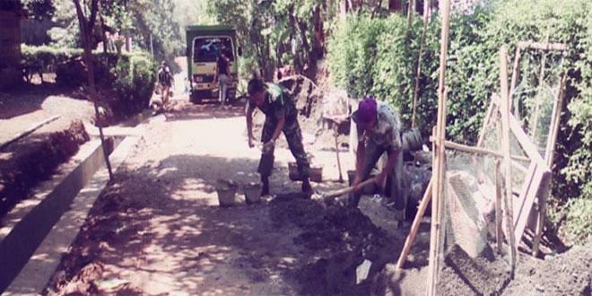 Koramil 12/Jatinegara Melaksanakan Karya Bhakti