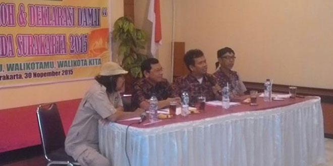 Babinsa Kel. jayengan Ramil 03/Serengan Kodim 0735/Surakarta Temu Tokoh dan Deklarasi Damai Pilkada 2015