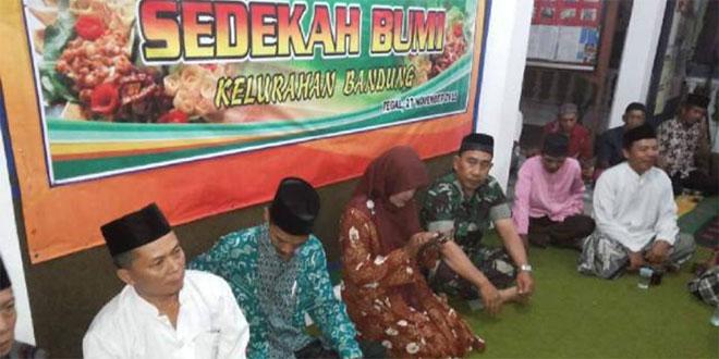 Serda Suharjo Hadiri Sedekah Bumi Kelurahan Bandung Tegal Selatan