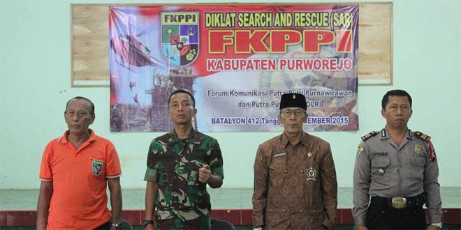 Dandim 0708/Purworejo Membuka Diklat FKPPI di Yonif 412/Raider