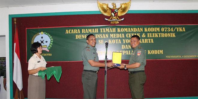 Kasdim 0734/Yogyakarta Pindah Satuan di Kodim 0729/Bantul