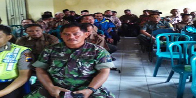 Babinsa Koramil 19 Bumijawa Hadiri Rapat Pelestarian Hutan di Kantor