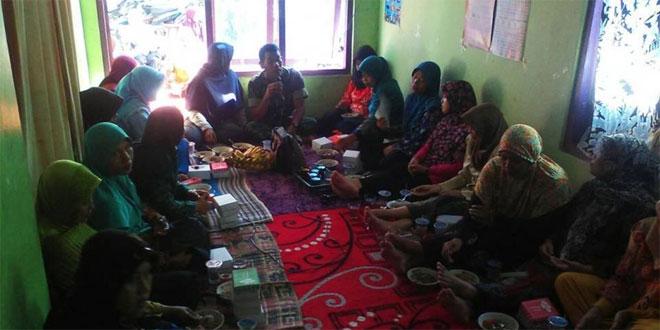 Danramil 09/Tarub Berikan Materi Wasbang kepada Anggota PKK dan Kelompok Pemudi Desa Kalijambe