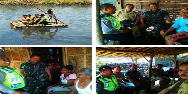 Babinsa Tegal Sari Koramil 02/Tegal Barat Melaksnakan Pembinaan Cinta Lingkungan di Kelurahan