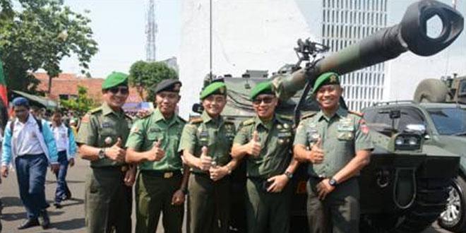 Danrem 073/Makutarama Buka Pameran Alutsista TNI AD di Semarang