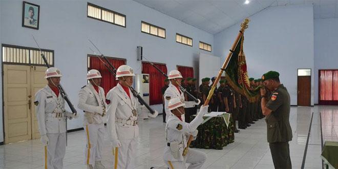 Laporan Korps Serah Terima Jabatan dan Penyerahan Tugas Kasirem 071/Wijayakusuma