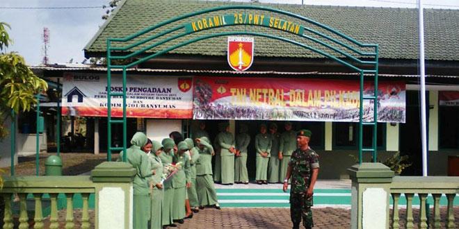 Ketua Persit KCK Cabang XVI Kodim 0701/Banyumas Melaksnakan Kunjungan