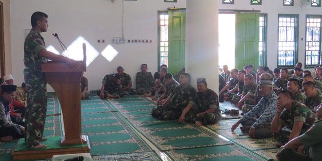 Kodim 0713/Brebes Memperingati Maulid Nabi Muhammad SAW