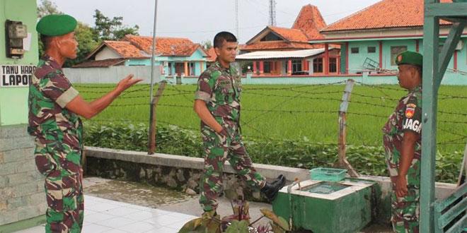 Kunjungan Dandim 0713/Brebes di Koramil 17/Songgom