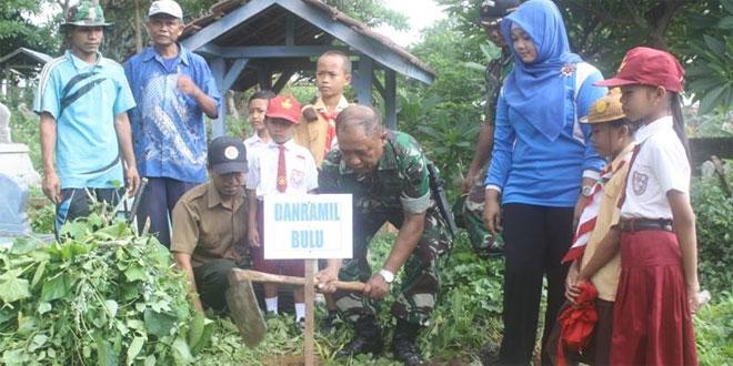 Kodim 0720/Rembang Laksanakan Penanaman Pohon
