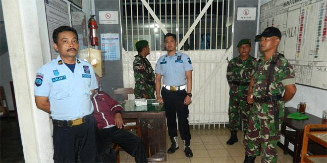 Melaksanakan Patroli ke Rumah Tahanan Salatiga