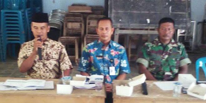 Babinsa Koramil 14 Purwodadi Menghadiri Musrenbang Desa Banjarsari