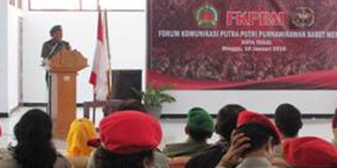 Kasdim 0712/Tegal Menghadiri Acara Pelantikan FKPBM