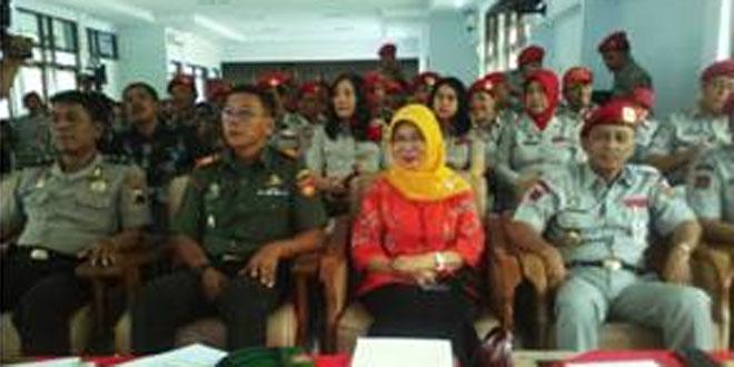Danramil 02/ Tegal Timur Menghadiri Undangan Pelantikan DPC FKPBM Kota Tegal