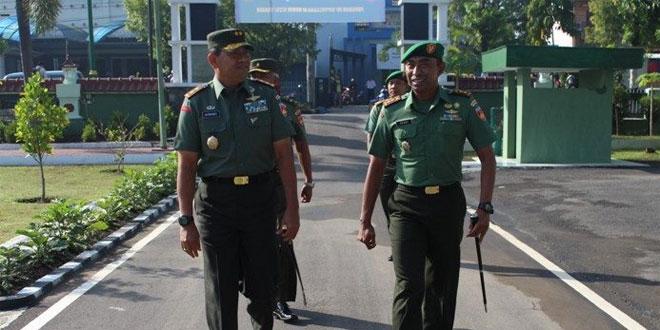Kunjungan Kerja Pangdam IV/Diponegoro ke Kodim Sragen