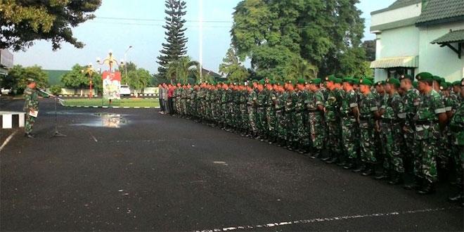 Apel Bersama Persiapan Kirab Replika Piala Jenderl Soedirman