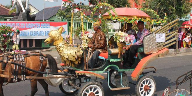 Kabupaten Brebes Menggelar Karnaval dan Kirab Budaya
