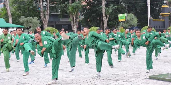 Kodim 0717/Purwodadi Melaksanakan Latihan Yongmoodo