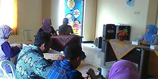 Rapat Sosialisasi Pekan Imunusasi Nasional (PIN) di Aula Puskesmas Bulu