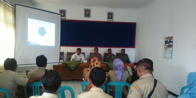 Batituud Koramil 12/Bulu Mendampingi Kepala BNN Memberikan Sosialisasi Tentang Narkoba