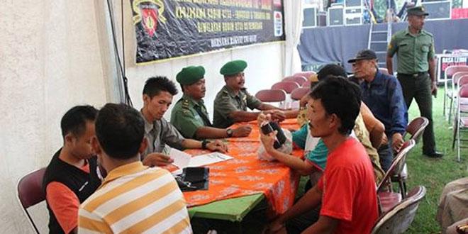 Bhakti Sosial Pengobatan Massal Kodim 0733-BS Semarang