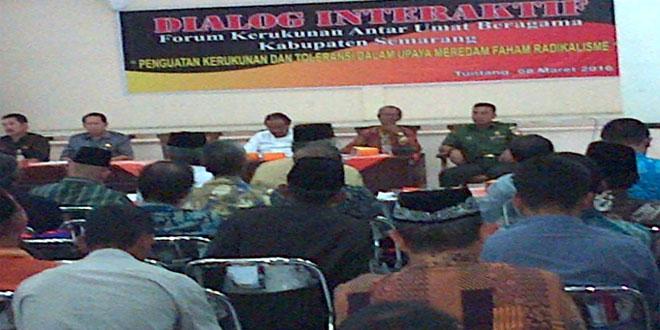 Pabungdim 0714 Dalam Dialog Interaktif Forum Kerukunan Umat Beragama