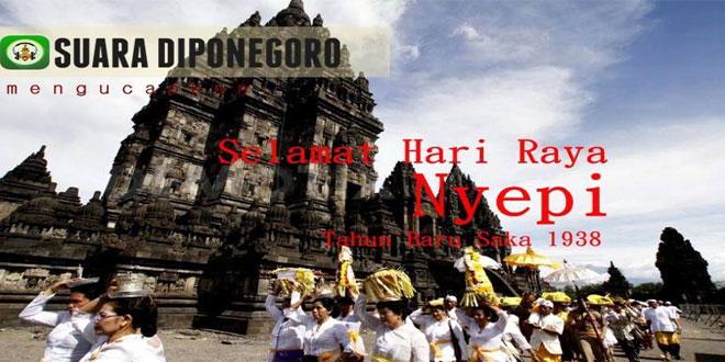 Keberagaman Sebagai Perekat Persatuan (Nyepi dan Tahun Baru Saka 1938) SahabatKodam IV Diponegoro