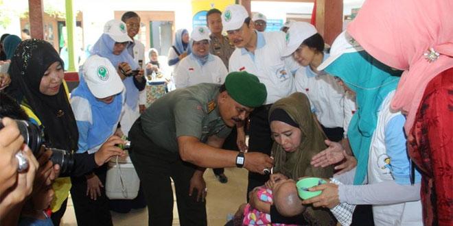 Komandan Kodim 0725/Sragen Hadiri Pencanangan PIN Kab. Sragen