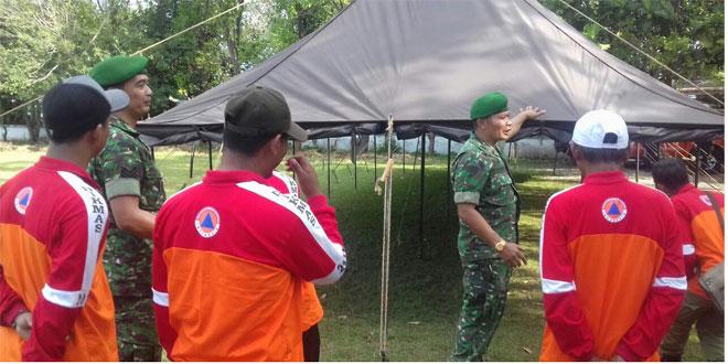 Latihan Simulasi Penanggulangan Bencana di Kota Surakarta