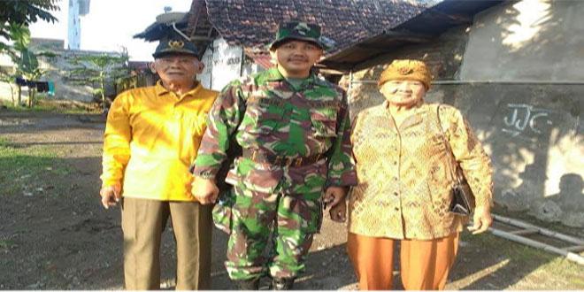 "Danramil 04/Danurejan Kodim 0734/Yogyakarta, ""JASA VETERAN HARUS DIHARGAI DAN DIPERHATIKAN"""