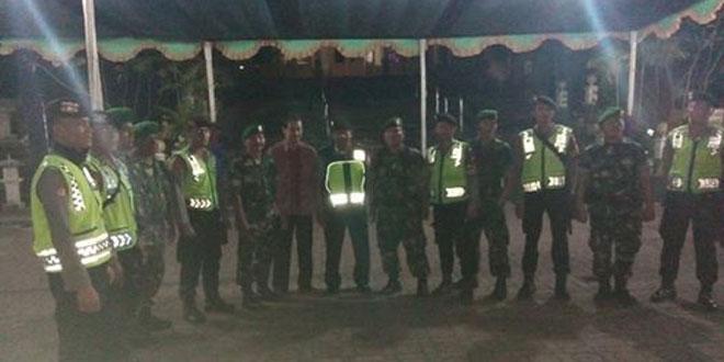 Pengamanan Gabungan Tempat-Tempat Ibadah di Wilayah Koramil 14/Slawi