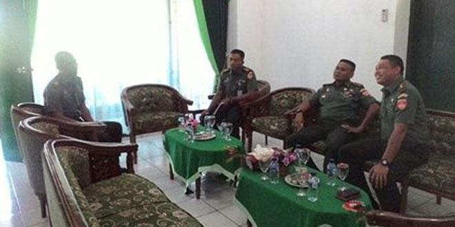 Kunjungan Tim Wasev Sisrendal Binter di Wilayah Kodim 0701/Banyumas