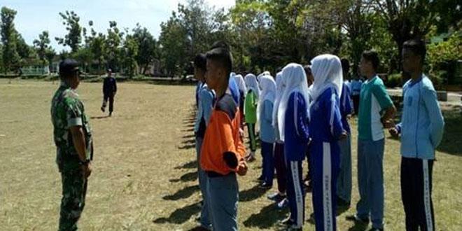 Babinsa Koramil Kalijambe Laksanakan Pembinaan PPBN