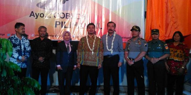 Dandim 0714/Salatiga Menghadiri Acara Launching Persiapan Pilkada Kota Salatiga