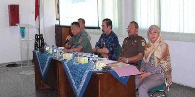 Rapat Pembentukan Desk Pemilu Pilkada Kota Salatiga