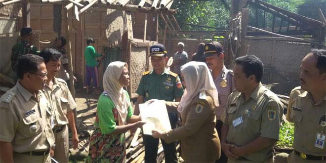 Bantuan RTLH Wilayah Koramil 05/Jatinom