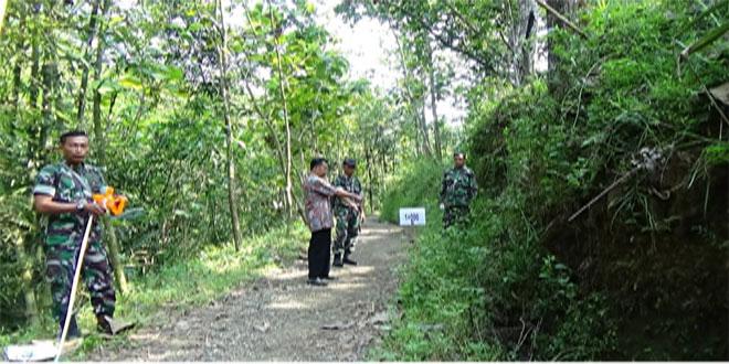 Pasiter Kodim Purworejo Cek Lokasi Tmmd Sengkuyung Tahap II di Pituruh