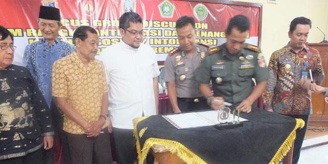 Forkopimda Gandeng FKUB Gelar Rakor Wujudkan Kamtibmas Kondusif Di Kabupaten Rembang