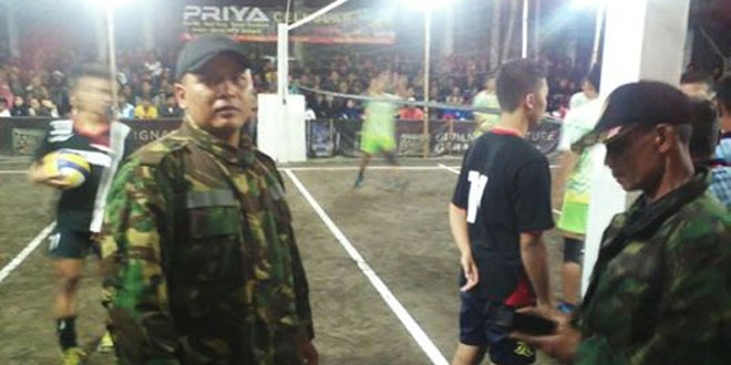 Turnamen Bola Volly Dusun Blumbang