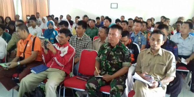 Babinsa Ramil 11/Kraton Menghadiri Technical Meeting Tri Lomba Juang